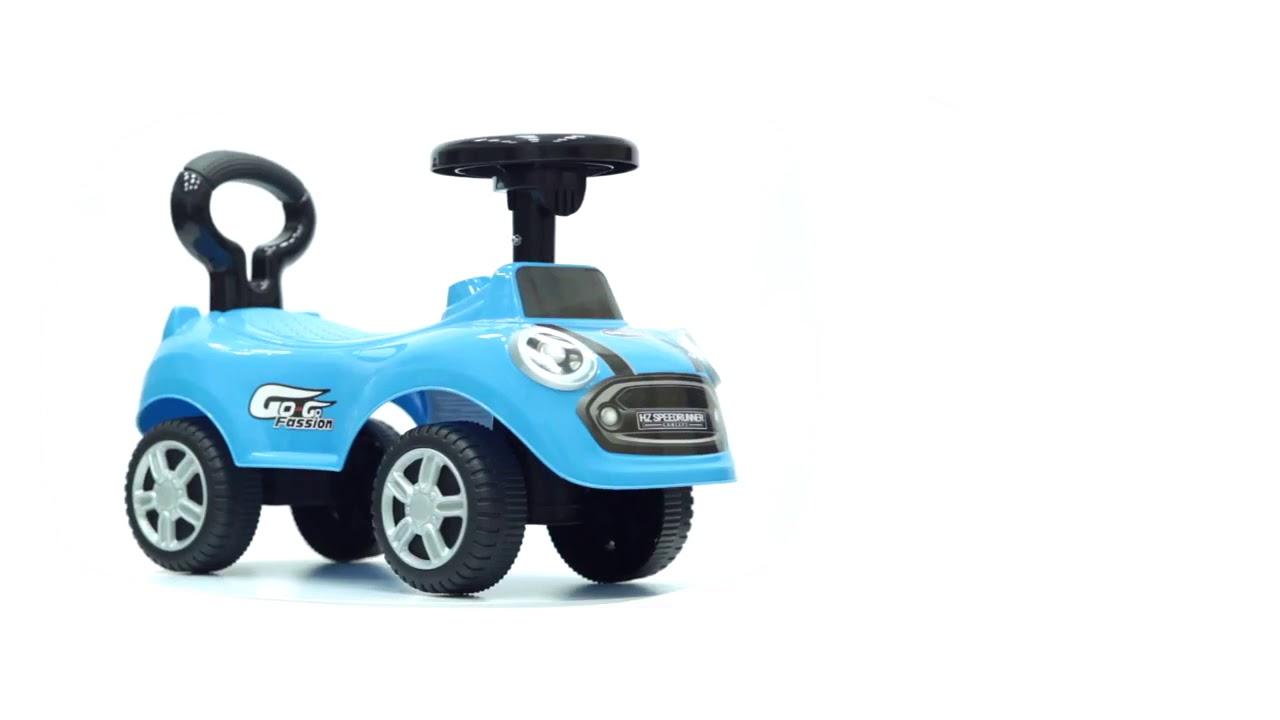 Детская каталка Baby Care Speedrunner музыкальный руль