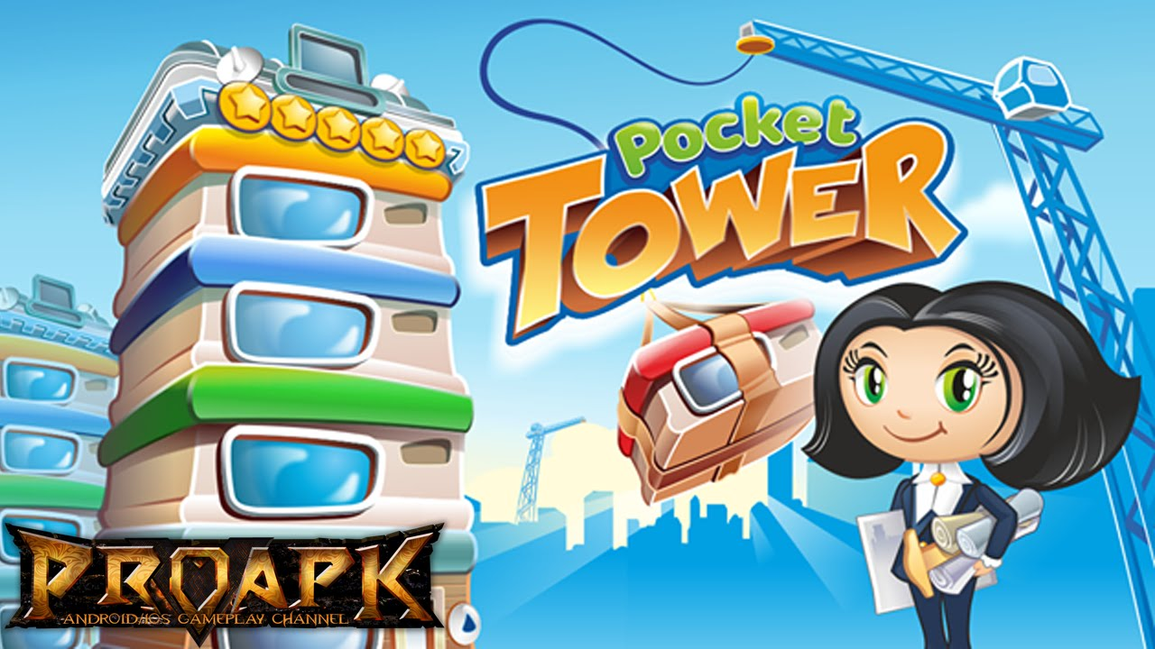 Pocket Tower build business management games