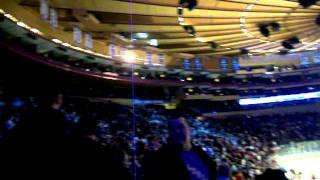 New York Rangers Goal at MSG