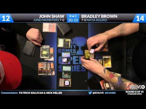 SCGMKE - Standard - Round 8 - John Shaw vs Bradley Brown