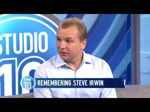 Steve Irwin's Last Words: Interview w/ His Underwater Cameraman Part 1 | Studio 10