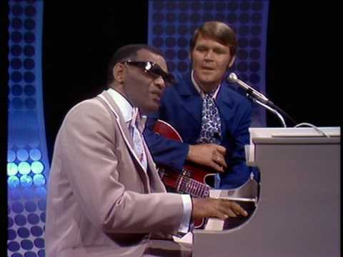 Glen Campbell & Ray Charles - Good Times Again (2007) - Cryin' Time (9 April 1969) w/ intro