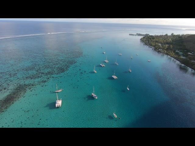 La Polynésie vue du ciel...