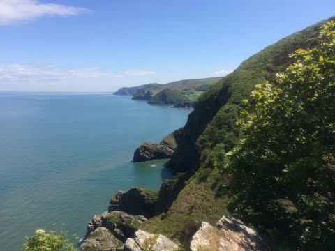 Exmoor coast walk