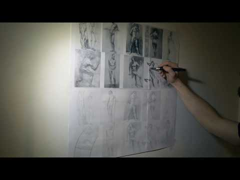 OCAD Studio: Gesture Drawing