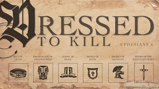 Dressed To Kill Pt 2(Breast Plate Of Righteousness)  |  Pastor JR Blanton
