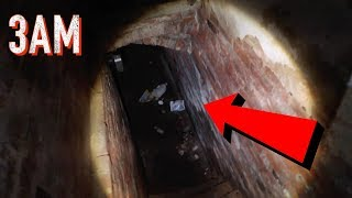 3AM OVERNIGHT CHALLENGE IN A HAUNTED BASEMENT! (SCARY!)
