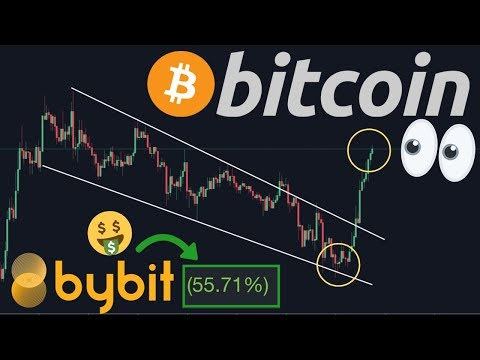 BITCOIN BREAKING OUT NOW!! EXACTLY LIKE I PREDICTED TODAY!!! Our Bybit Positions In BIG GAINS!!!
