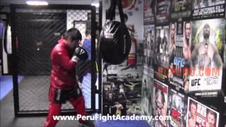 Clases de Boxeo - Entrenando en el Wrecking Ball