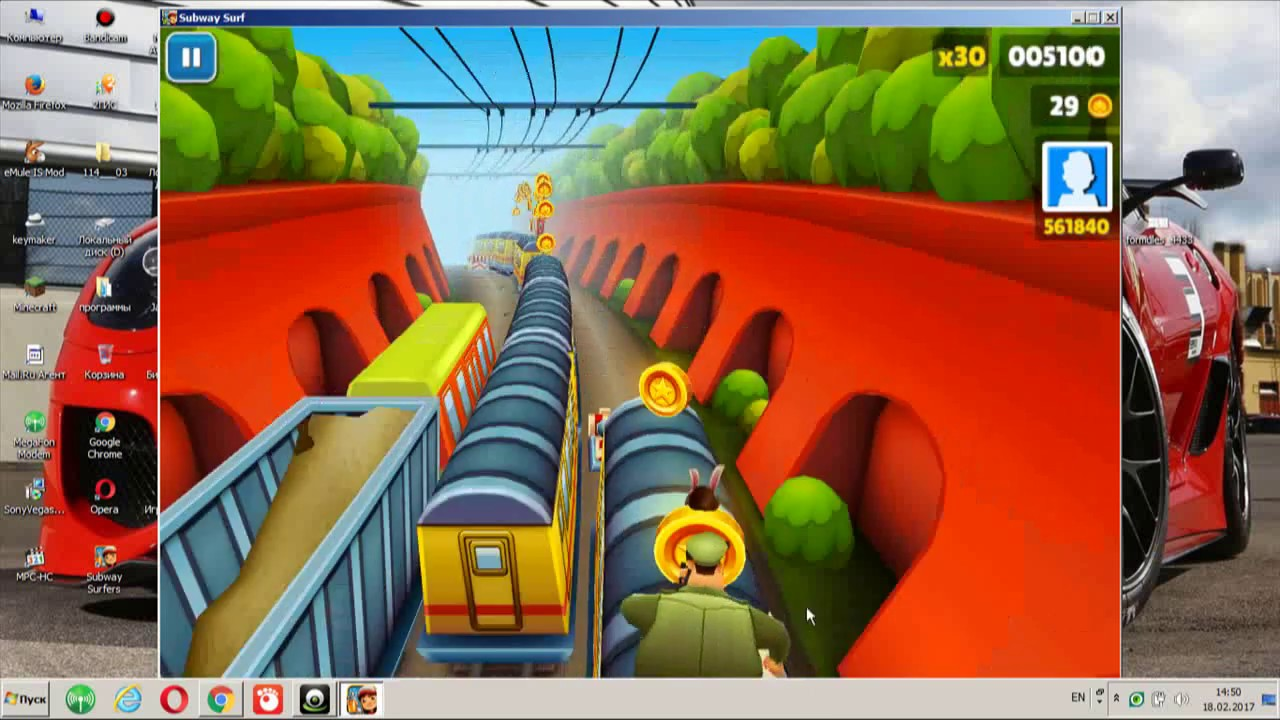 Скачать subway surfers 5 на компьютер