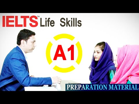 ✔ IELTS Life Skills ► A1 Speaking and Listening (Sample Test 3)