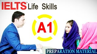 IELTS Life Skills || A1 Speaking and Listening || (Sample Test 3)