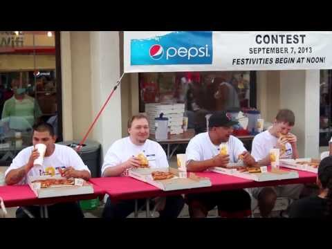 New Mexico Entertainment - Pizza 9's Pizza Eating Contest