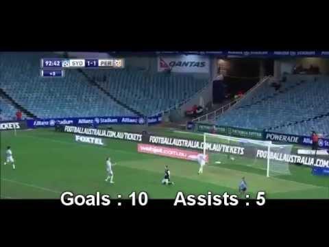 Alessandro Del Piero - All goals + assists 2013-14