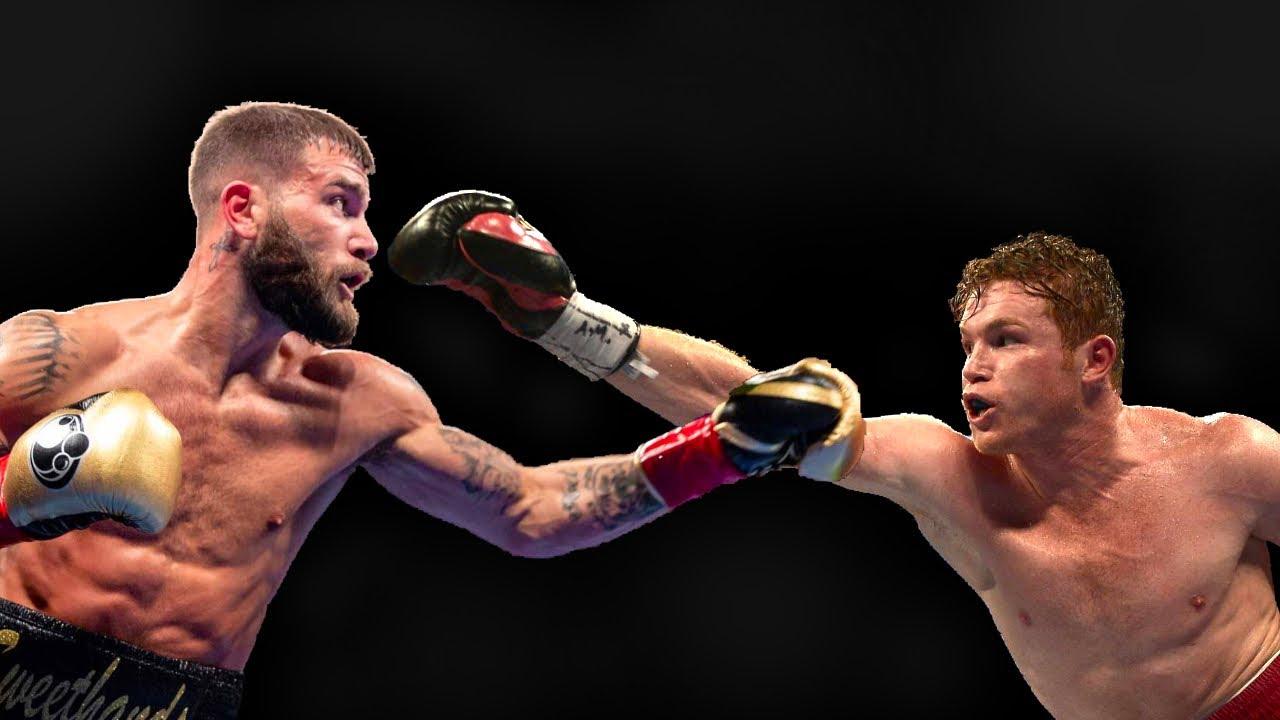 Canelo Alvarez, Caleb Plant get into heated physical confrontation ...