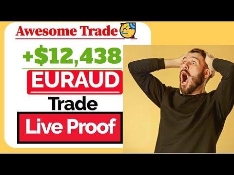 +$12,438 Profit:FOMC Federal Funds Rate Forex Trade EURAUD🥳