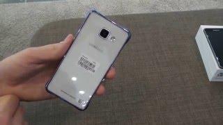 Samsung Galaxy A3 (2016) Clear Cover védőtok bemutató videó