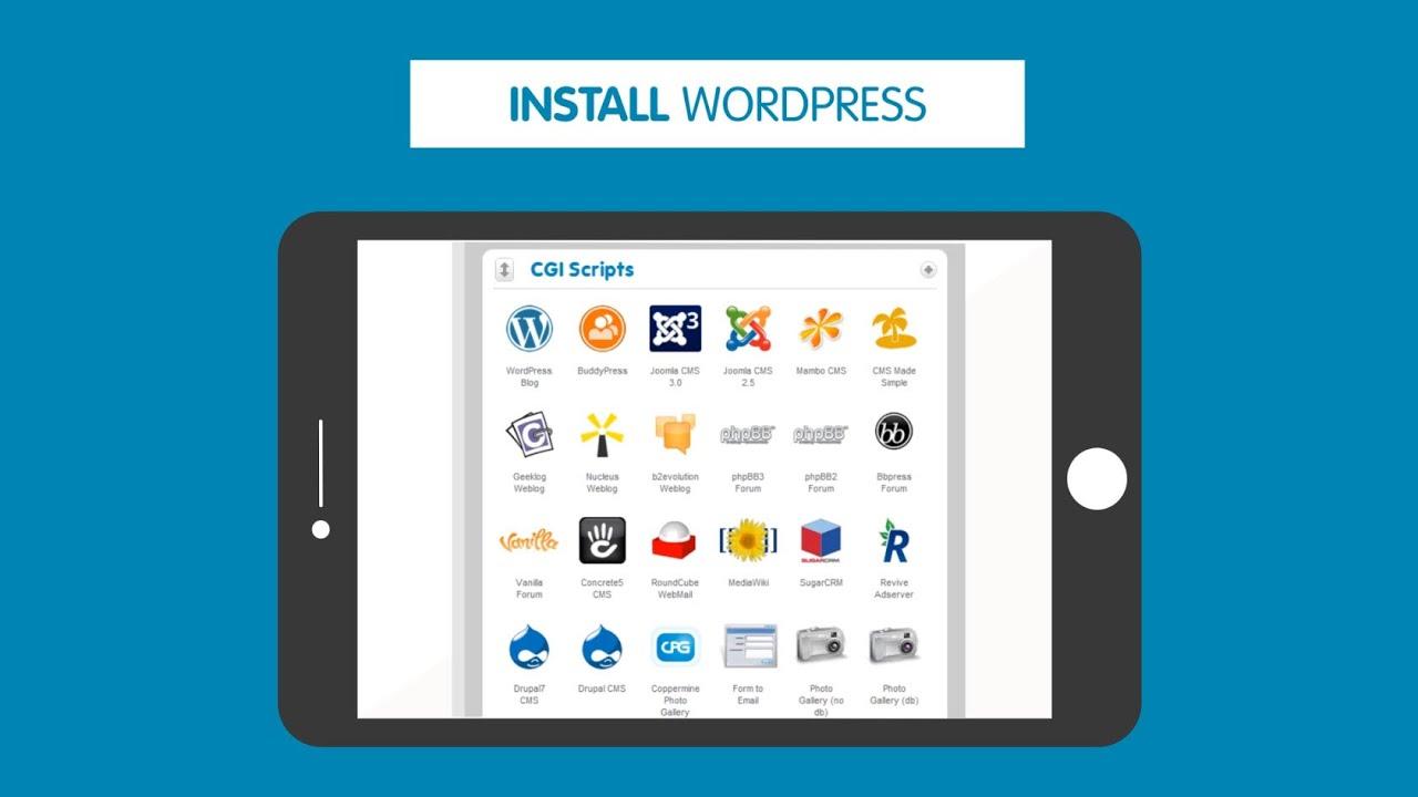 install wordpress manually 123 reg