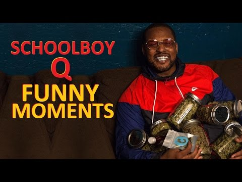 ScHoolboy Q FUNNY MOMENTS Part 1 (BEST COMPILATION)