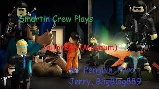 Roblox 💎 MUSEUM 💎 Jailbreak Partie 2 POLICE BRUTALITY!! W/ Pingouin, Jerry, Pyro et Bligblog889
