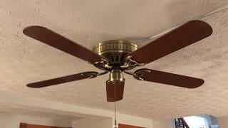 """52"""" Hunter Low Profile V ceiling fan"""