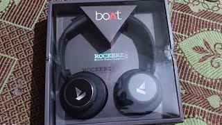 UNBOXING NEW boAt Rockerz 450 Bluetooth On - Ear Headphones | GARENA FREE FIRE #INTELUGU