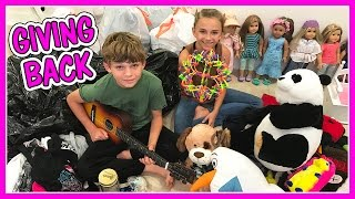 We decide to go through our entire house and donate everything we d...