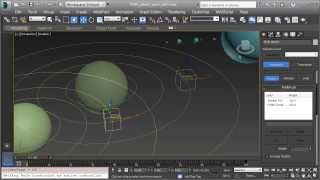 Solar System: 3dsMax Technical Video Part 3