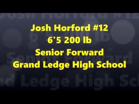 Josh Horford 2015-16 Hoops Highlight Tape! (Grand Ledge HS c/o 16)