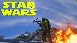 Space Engineers | STAR WARS BLASTERS!