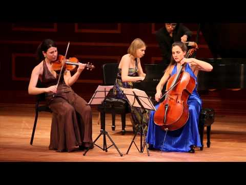 "Cortona Trio plays Dvorak ""Dumky"" Trio, i."