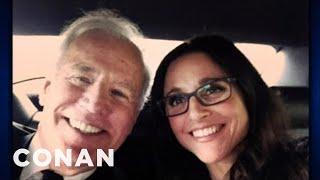Repeat youtube video Julia Louis-Dreyfus's Wild Times With Joe Biden - CONAN on TBS