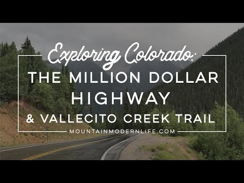Exploring Colorado: The Million Dollar Highway and Vallecito Creek Trail