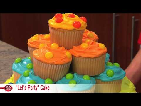 How to Make a Polka Dot Let's Party Cake with Betty Crocker