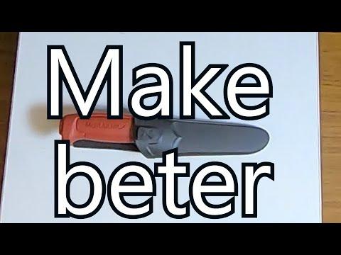 How To Make A $10 Mora Knife / Survival / Bushcraft Ready ,  A New Kind Of Mod