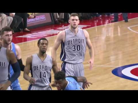 Denver Nuggets vs Detroit Pistons | November 5, 2016 | NBA 2016-17 Season