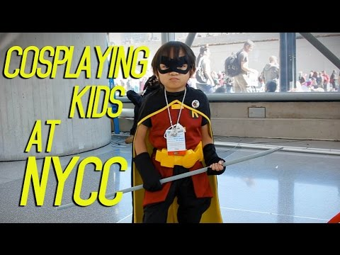 Cosplaying Kids at NYCC 2014 - YouTube