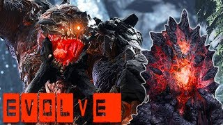 Evolve - TAMING THE BEAST, HILARIOUSLY OP MONSTER - Evolve Stage 2 Gameplay