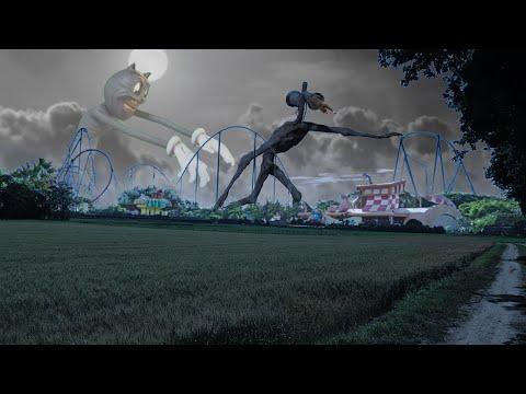 Siren Head & Cartoon Cat ATTACKS PEOPLE In AMUSEMENT PARK On CAMERA..! *DANGEROUS!*