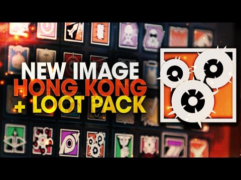 NOUVELLE IMAGE DLC HONG KONG + LOOT PACK ! RAINBOW SIX SIEGE