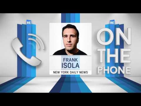 Frank Isola of New York Daily News on Porzingis & The New York Knicks - 4/26/17