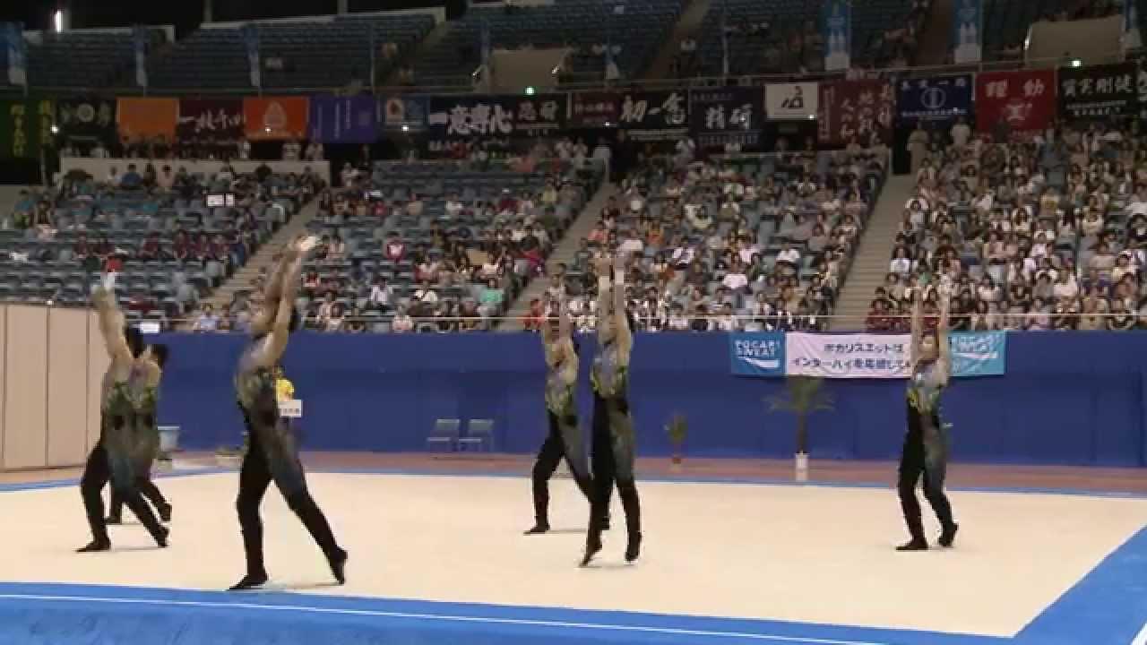 H26インターハイ【新体操団体】...