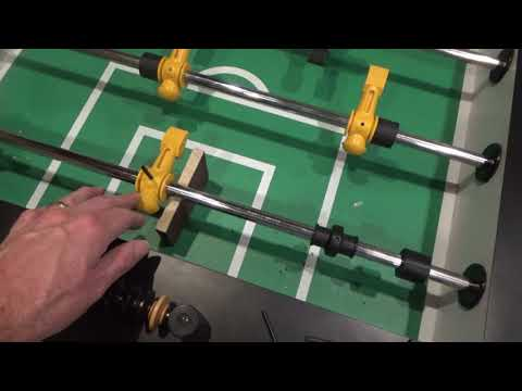 Installing New Tornado Foosball Player