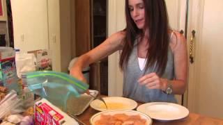 """Making """"captain Crunch Chicken"""" With Lisa Rosenblatt"""