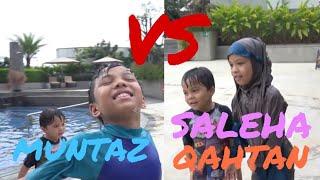 Video SIAPAKAH PEMENANGNYA?? - Swimming Challenge Muntaz VS Saleha & Qahtan Halilintar download MP3, 3GP, MP4, WEBM, AVI, FLV Februari 2018