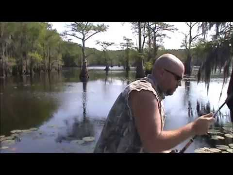 Caddo lake fishing late april bass chain pickerel youtube for Caddo lake fishing report