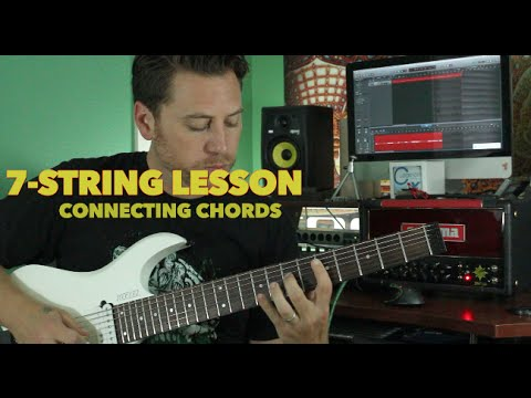 Connecting Chords on a 7 String Guitar