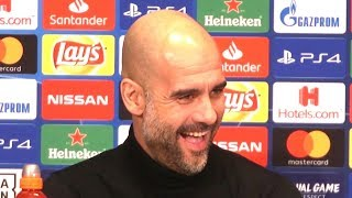 Pep Guardiola Full Pre-Match Press Conference - Schalke v Manchester City - Champions League