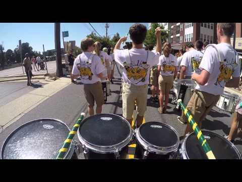 Damascus HS Drumline Labor Day Parade 2015