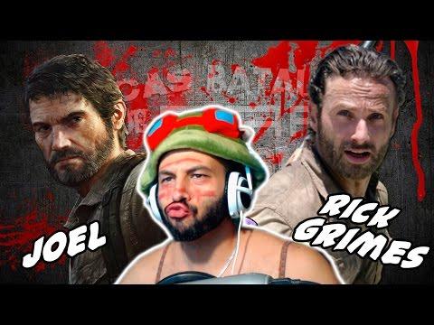 Rick Grimes vs Joel. Épicas Batallas de Rap del Frikismo | Keyblade | Video Reaccion